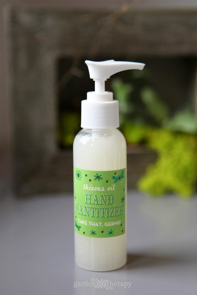 Homemade All Natural Hand Sanitizer Recipe All Natural Hand
