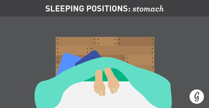 The Best (and Worst) Positions for Sleeping: Stomach Sleepers #tips