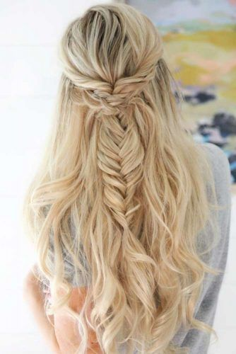 cute hair styles for homecoming best 25 half braided hairstyles ideas on 9104 | ac9104f5d13812e09328d73a12d0c3d5