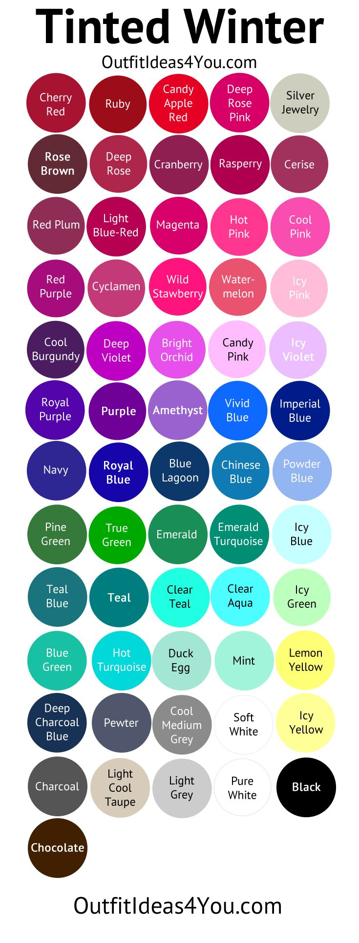 What Are Summer Colors best 25+ winter color palettes ideas on pinterest | winter colors