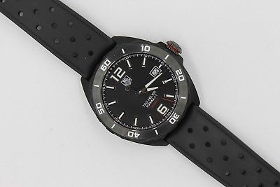 Tag Heuer Black FORMULA 1 Watch Mens WAZ2115.FT8023 $3K AUTOMATIC MINT CALIBRE 5