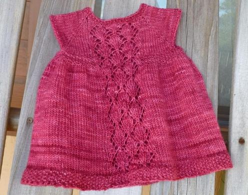 Taiga Hilliard Designs--Taiga Hilliard--Nancy Baby Dress (birth - age 3)