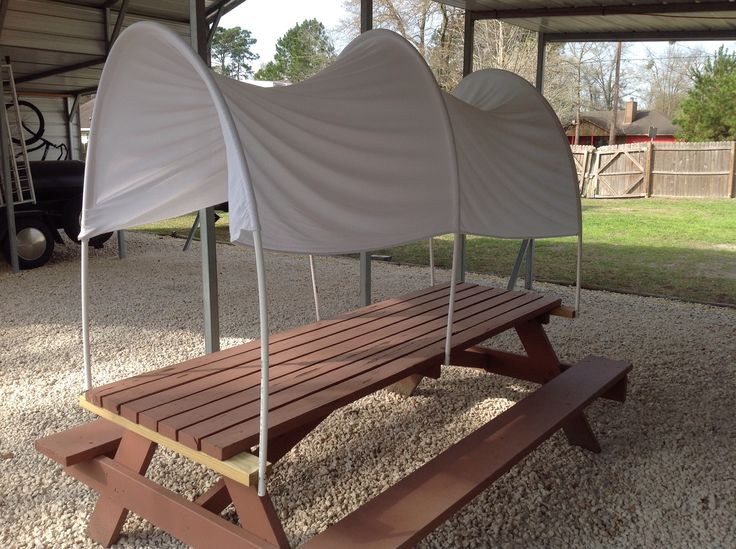 Covered wagon table - Sheriff Callie's Wild West Party (pic only)