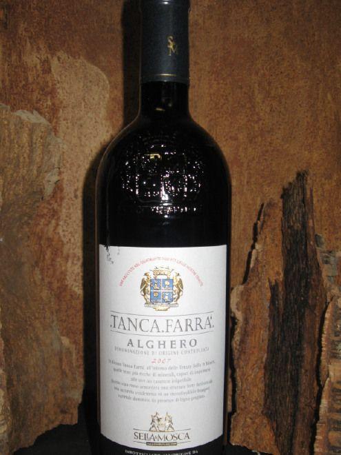 VINO TANCA FARRA' ALGHERO DOC 2007 0,75L