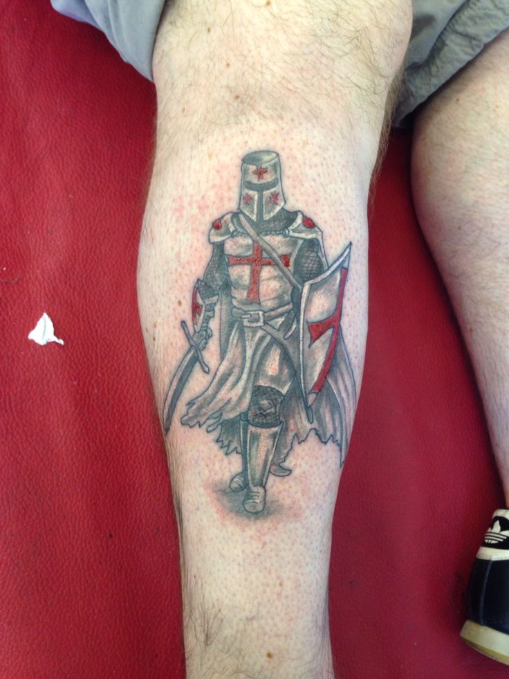 Crusader Knight Tattoo Designs
