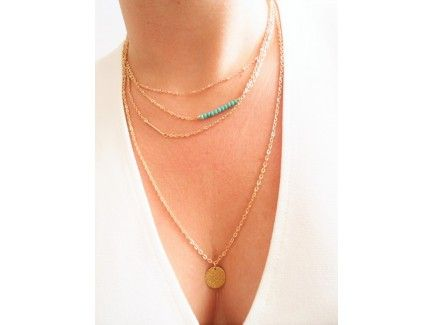 Four Chains Necklace