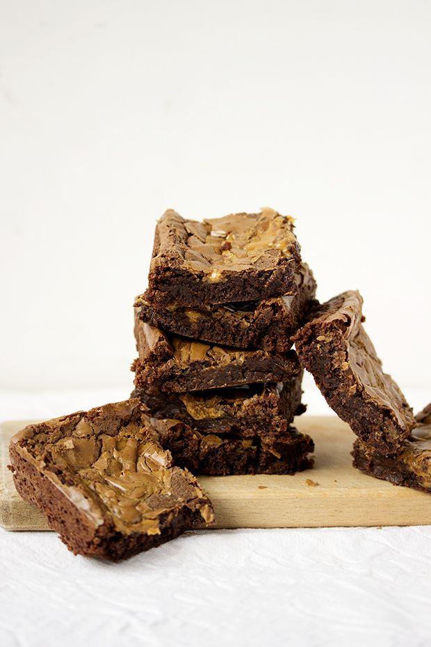 Брауни с арахисовым маслом / Peanut Butter Brownies