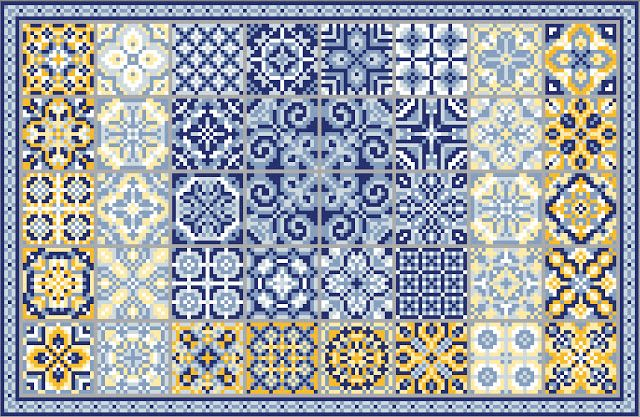 gazette94: AZULEJOS love the collection of projects at this site. Beautiful gallery, too, to help inspire color choices