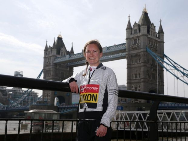 Great Britain's Alyson Dixon during the photocall at Tower Hotel, London. Picture from PA.