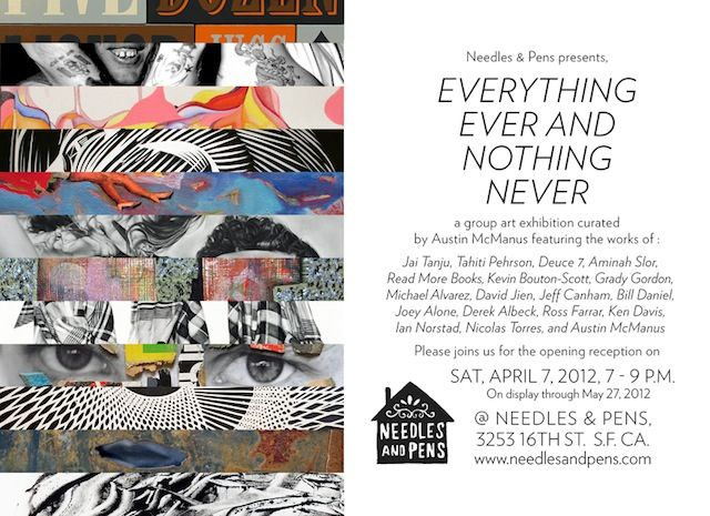 Everything Ever and Nothing Never: Graphic Design, Art, Mixed Media
