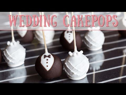Sweet Wedding Cake Pops ohne Cake Pop Maker! So funktioniert es .. – YouTube   – Kuchen