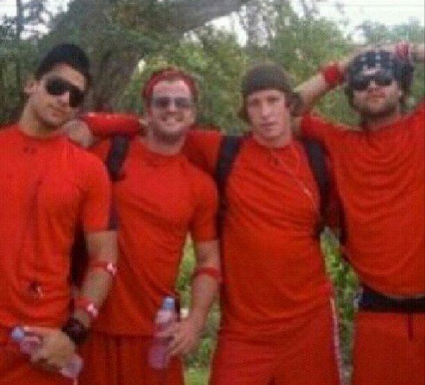 Kenny Santucci, Johnny Bananas, Evan Starkman and Chris Tamburello (CT) - MTV The Challenge