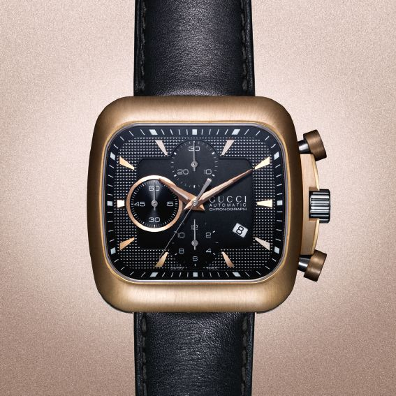 Featuring a special bronze bezel, our coupe watch only gets better with age.