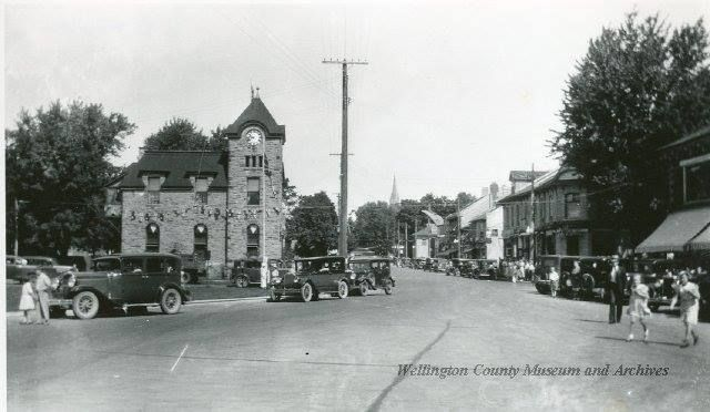 Elora at the split of Metcalf from Geddes streets - https://www.facebook.com/photo.php?fbid=10152095870476792&set=pcb.554734717986099&type=1&theater