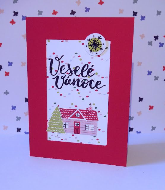Card kit Papero Amo a Sweater Weather collection od American Crafts