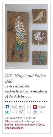 Nagel und Faden Bild bei Handmade Kultur