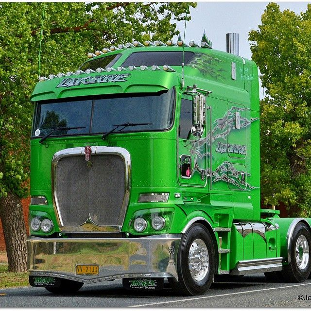 Latorre K200 Bigcab Greenmachine Kenworth Truckies Trucks