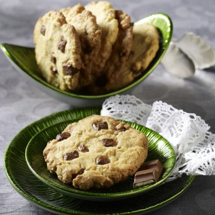 Cookies mit Kinderschokolade Rezept | LECKER