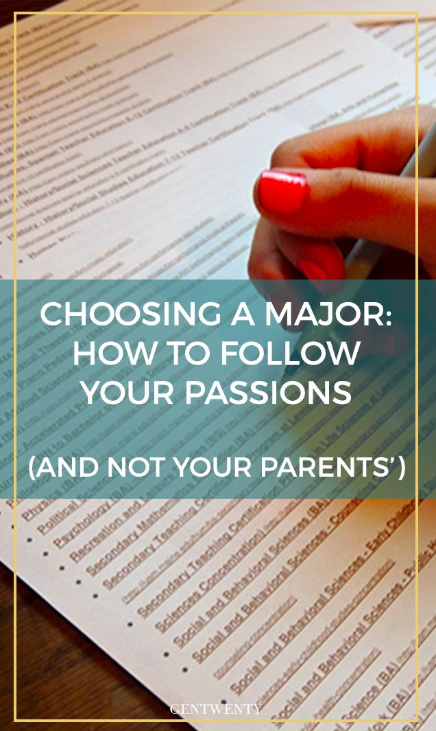"When you love PR but your parents are saying ""med school or bust,"" it feels like you're caught in the middle. Here are a few tactics to help your parents see the passions the fuel you -- and just where those passions will take you in college."