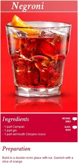 #Negroni. A cocktail which has left its mark on the history of the Milanese aperitif and is known throughout the world. Reward yourself with a moment of relaxation and pure pleasure while enjoying the full flavor and simplicity of a Negroni. Click the image to view the video on how to make it!