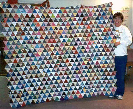 69 best Charm Quilts & Millennium Quilts images on Pinterest ... : how quilts are made - Adamdwight.com