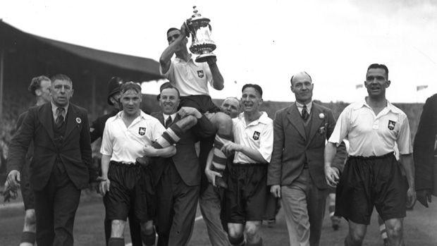 preston north end - fa cup  winners - 1938