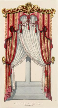 Image result for vintage illustrations of regency mouldings