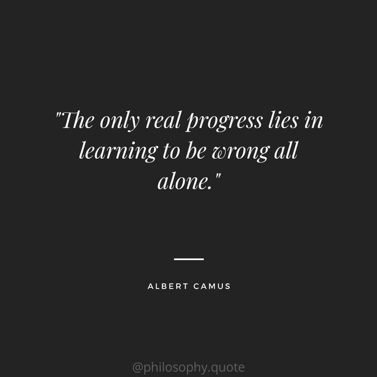 Albert Camus Quotes | Philosophy quotes, Camus quotes ...