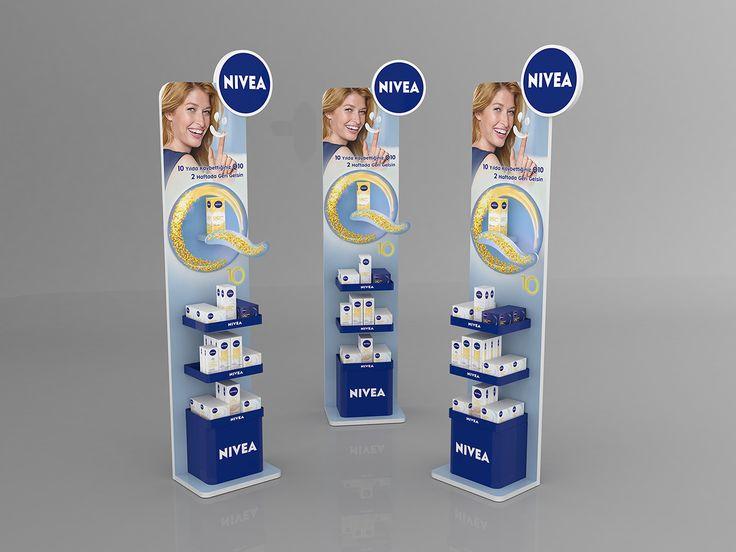 Nivea Pop Display on Behance