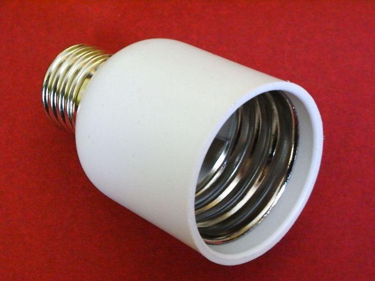 Beautiful Details zu Erweiterung Adapter E auf E E E Konverter f r Gl hlampen Halogen LED