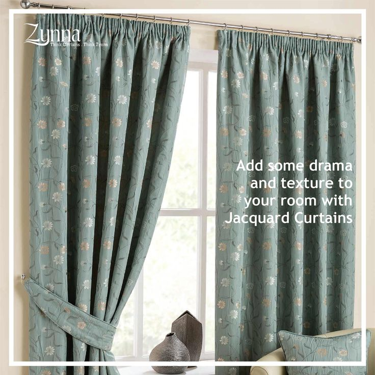Dress your windows with Jacquard Curtain or