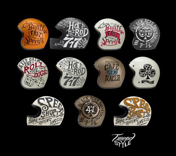 http://thehalifaxjungle.tumblr.com/post/105517895987/helmet-collection