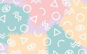 ผลการค้นหารูปภาพสำหรับ geometric pastel wallpaper