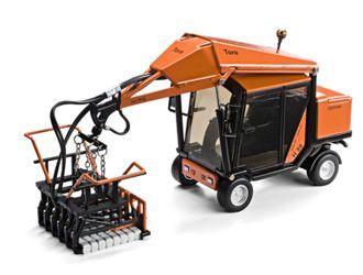 This Optimas Toro 88 Paving Block Layer Construction Model is Orange and features working lift arm, wheels. It is made by Motorart and is 1:35 scale (approx. 12cm / 4.7in long).  ...