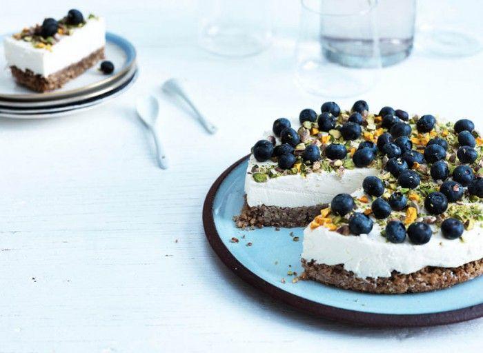 Lækreste opskrift på LCHF-cheesecake - sukkerfri og glutenfri --> Madbanditten.dk