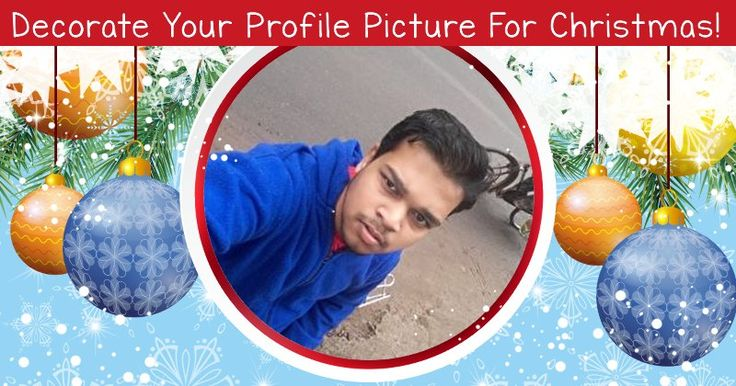Decorate Your Profile Picture For Christmas!