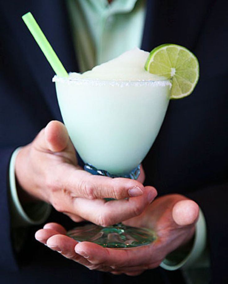 Frozen Margarita - made these and they were awesome! came out the perfect texture, great flavor and strong but not too strong