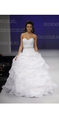 strapless-sweetheart-beaded-kapel-trein-kant-trouwjurken