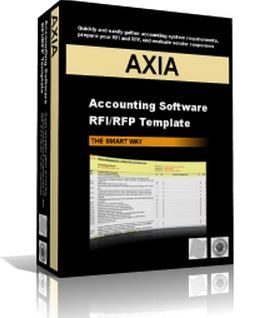 Axia Consultants: RFI/RFP Templates -  A smarter way to gather your software requirements, prepare your RFI & RFP, and evaluate your vendor responses.  The 'RFI/RFP Templates' enable you to quickly and easily gather your system requirements, prepare your requirements specification, RFI and RFP (for issue to software vendors) and then assist you with your evaluation and comparison of vendor responses. ( http://www.axia-consulting.co.uk )