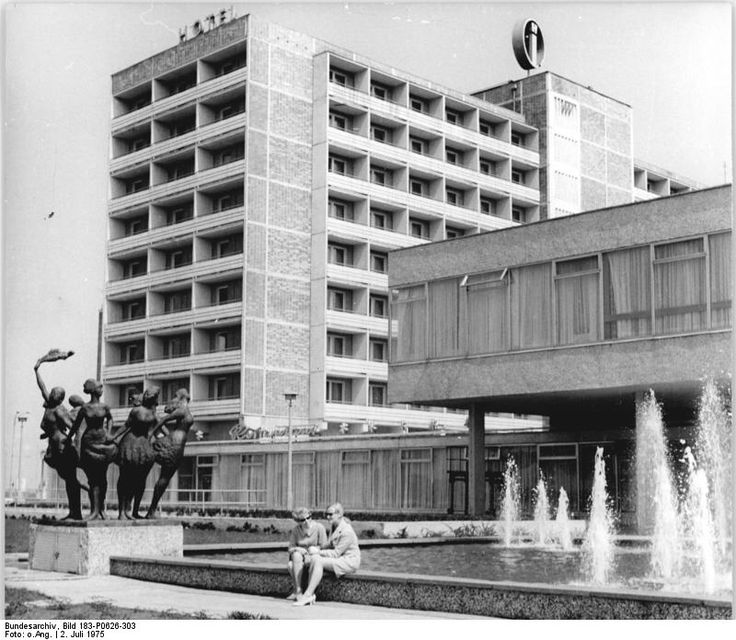 Rostock, Hotel 'Warnow' July 1975