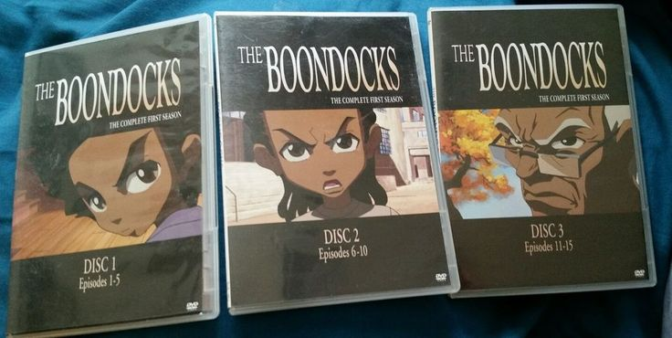 The Boondocks - Complete First Season (DVD, 2006, 3-Disc Set) | DVDs & Movies, DVDs & Blu-ray Discs | eBay!