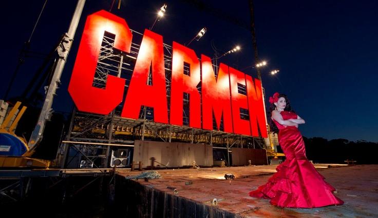 Carmen 2013 @ Sydney Harbour