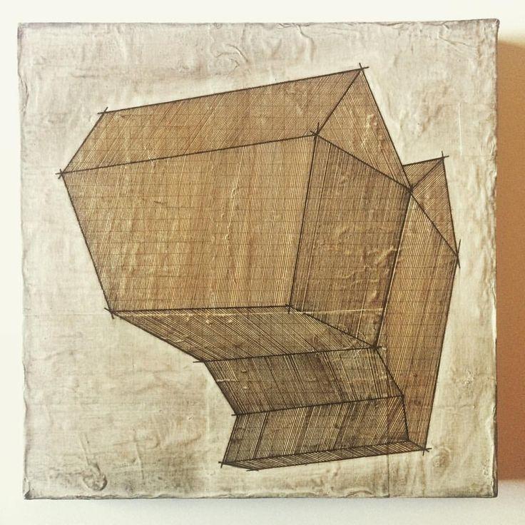 """Mi piace"": 60, commenti: 3 - Mauro Benzi (@maurobenzi) su Instagram: ""Nowhere // 2017 #sketch #done #recyclingart #recyclingpaper #abstractpainting #mystudiotoday…"""