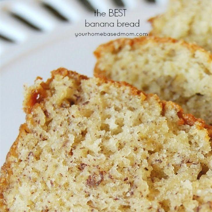 The Best Banana Bread Recipe Breads with sugar, oil, eggs, bananas, sour cream, vanilla, flour, baking soda, salt