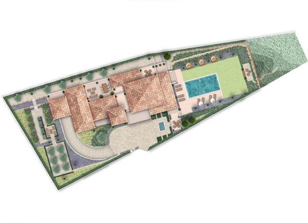 Masterplan - Residential Garden   Algarve - Landscape project by Silvia Sacramento, via Behance