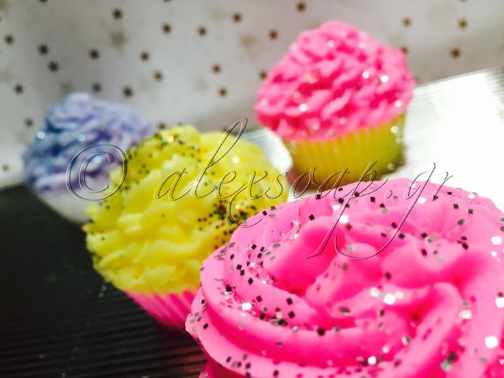 Cupcakes Soaps