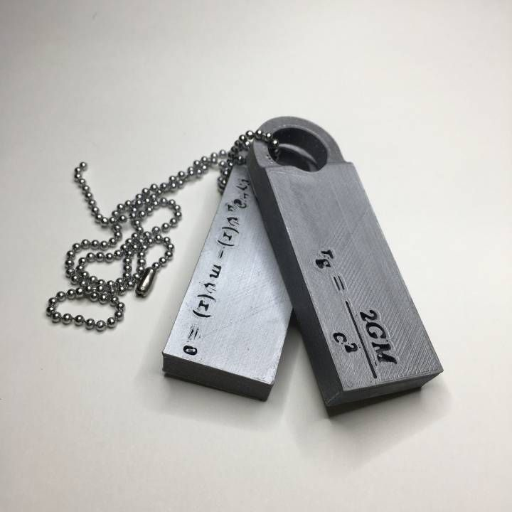 Download 3D printed Death Stranding Norman Reedus Pendants-Dog Tags  by fotis mint