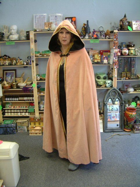 This page is rather creepy, but there are a ton of GREAT capes and cloaks.