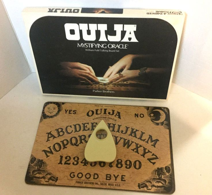 1972 OUIJA Talking Board Game Mystifying Oracle Parker Brothers Original  | Everything Else, Metaphysical, Psychic, Paranormal | eBay!