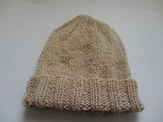 Receita: Touca simples em tricô